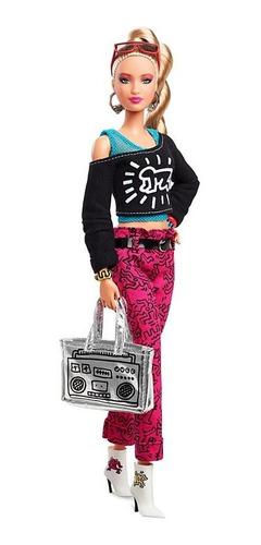 Boneca Barbie Keith Haring Edição Colecionador De Luxo 2019
