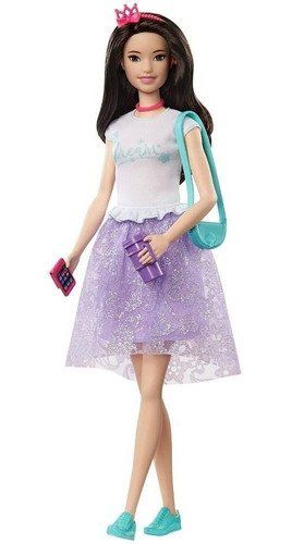 Boneca Barbie Princess Adventure Princesa Renee Japonesa