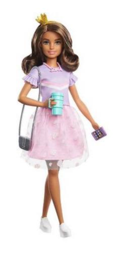 Boneca Barbie Teresa Aventura De Princesas Com Acessórios