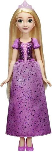Boneca Disney Clássica Rapunzel Brilho Real Original + Brind