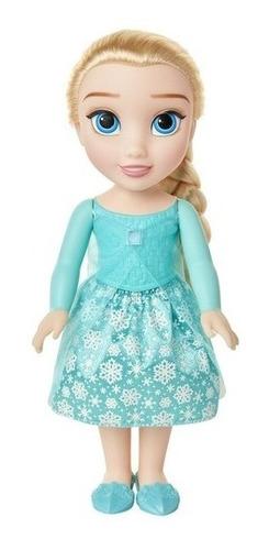 Boneca Elsa Luxo 35 Cm Disney Frozen - Mimo Original +brinde