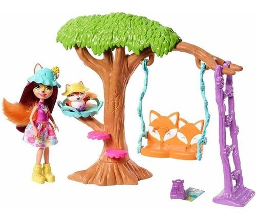 Boneca Felicity Fox E Flick Enchantimals Aventura No Parque
