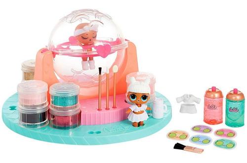 Boneca Lol Surprise Fabrica De Glitter Diy Com Acessórios
