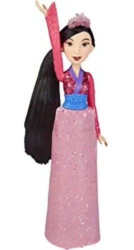 Boneca Princesa Mulan Disney Royal Shimmer Brilhantes