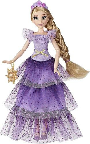 Boneca Princesas Disney Style Series Rapunzel Edição De Luxo