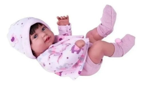 Boneca Reborn Anny Doll Baby Menina Super Linda + Acessorios