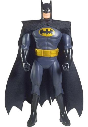 Boneco Batman Classico Grande 45cm Original Com Capa
