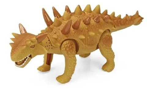 Boneco Dinossauro Anda Mexe A Cabeça E Cauda Com Luz E Som