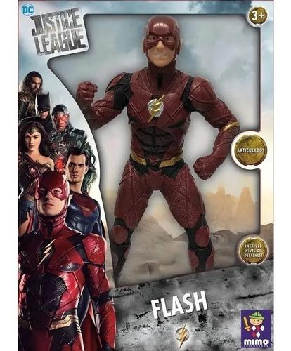 Boneco Flash 45cm Gigante - Liga Da Justiça - Mimo - Dc