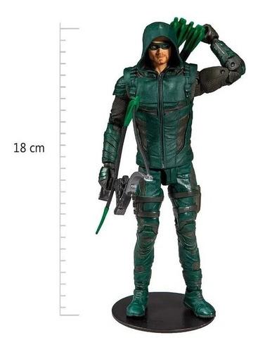Boneco Green Arrow Arqueiro Verde Dc Multiverse Edição Luxo