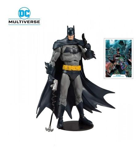 Boneco Modern Batman Articulado Dc Multiverse Edição Luxo