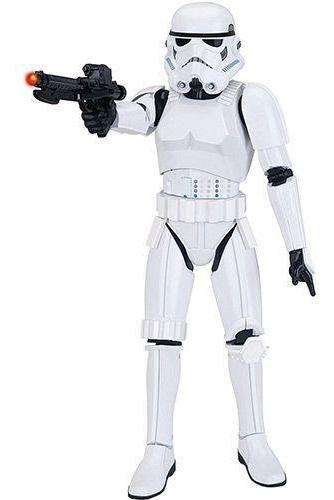 Boneco Star Wars Stormtrooper Interativo 40cm Deluxe C Som