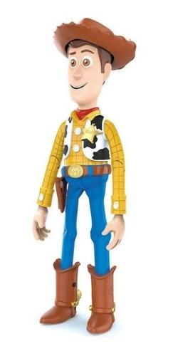 Boneco Toy Story - Xerife Woody Com 14 Falas Em Portugues