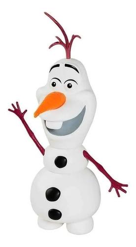 Boneco Vinil Frozen Olaf - Líder Brinquedos Original Fronze