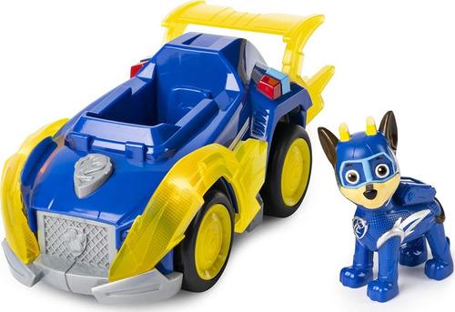 Carro Super Veiculo Patrulha Canina Som E Luz Chase Deluxe