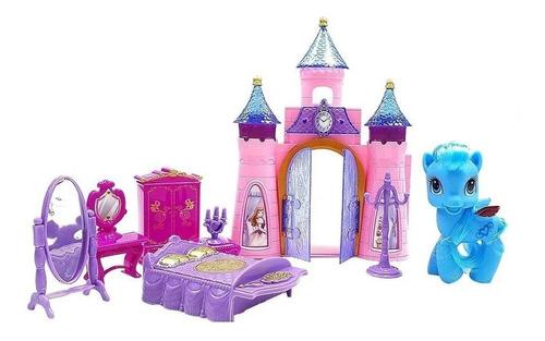 Castelo Encantado Brilhante Pony Com Moveis + Pony + Brinde