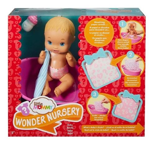 Nova Boneca Little Mommy Bebe Surpresas Magicas C/ Banheira