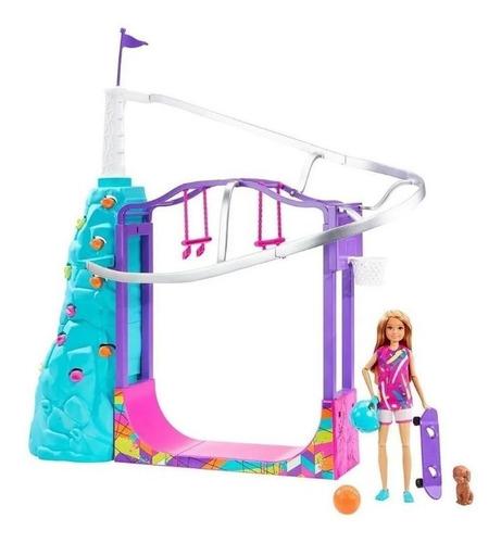Playset Boneca Barbie Stacie Esportes Radicais Edição Luxo