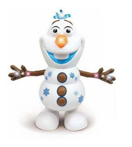 Robo Boneco Dançarino Musical Olaf Frozen Canta Dança