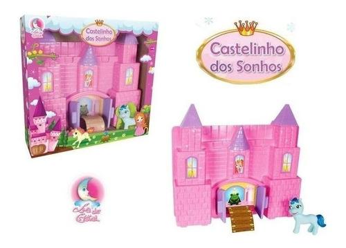 Castelinho Dos Sonhos Com Poney - Lua De Cristal + Brinde