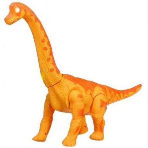 Dinossauro Coleção Jurassic Com Movimento E Luz Anda Sozinho