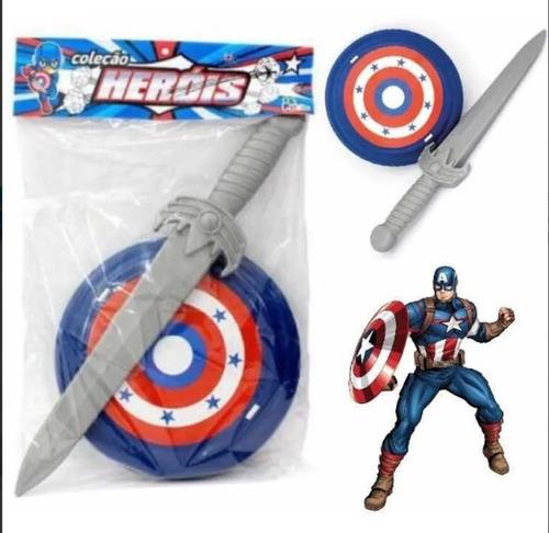 Escudo E Espada Capitão América Marvel Vingadores