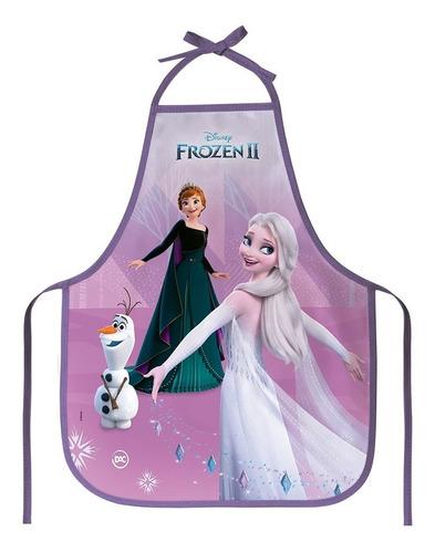 Avental Infantil Frozen 2 - Protege A Roupa - Colorido