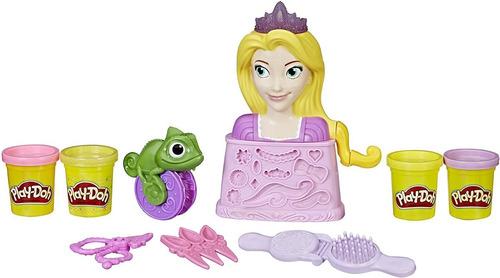 Rapunzel Princesas Disney Salão De Beleza Play-doh Massinha