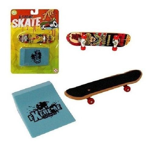 Skate De Dedo Xtreme Com Rampa Obstáculos Pague 1 Leve 2