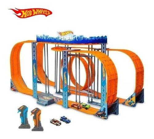 Autorama Pista Hot Wheels Track Set Zero Gravity 1300 Cm