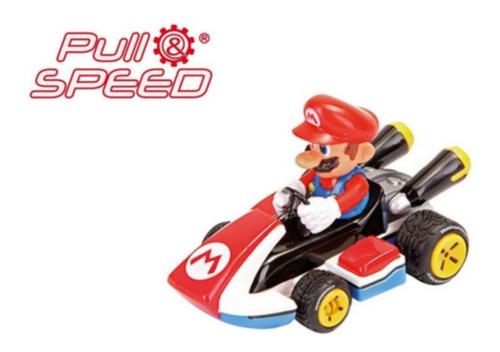 Carrinho De Fricção Mario - Mario Kart 8 - Fricção - 1/43