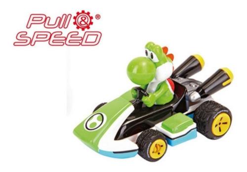 Carrinho De Fricção Yoshi - Mario Kart 8 - Fricção - 1/43