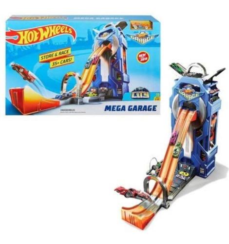Hot Wheels - Garagem Rotativa Gigante - Mega Garagem 2020