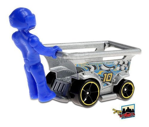 Hot Wheels Carrinho Aisle Driver Ride-ons Track Stars 2/5