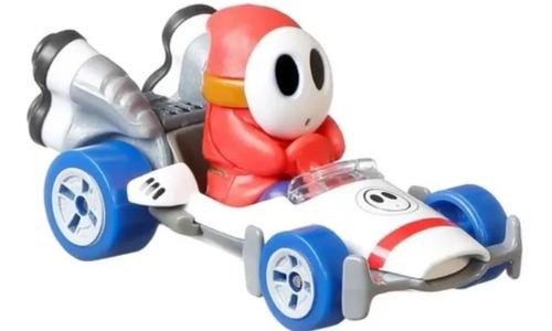 Hot Wheels Mario Kart - Shy Guy B-dashe - P Wing Edição 2021