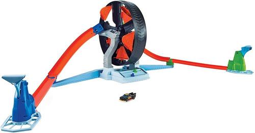 Hot Wheels Pista Competição Giratória Multicolorido Radical