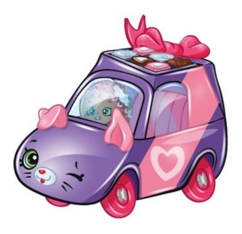 Mini Shopkins Veículo De Metal Cutie Cars Chococar Edição E