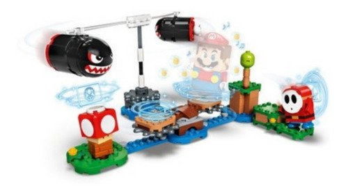 Lego Super Mario - Expansão Bombardeio De Bill Balaços 132pc