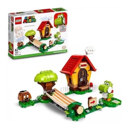 Lego Super Mario - Expansão Casa De Mario E Yoshi 205 Pcs