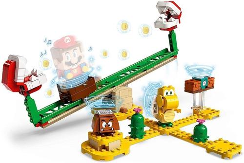 Lego Super Mario Derrapagem Da Planta Piranha Expansão 217p