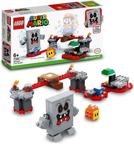 Lego Super Mario Expacão Reves Das Lava Do Esmagão 133 Pcs