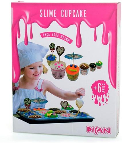 Slime Cupcake Massas Para Modelar - Dican - Faça Você Mesmo
