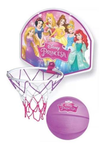 Tabela De Basquete Princesas Disney Com Bola De Vinil