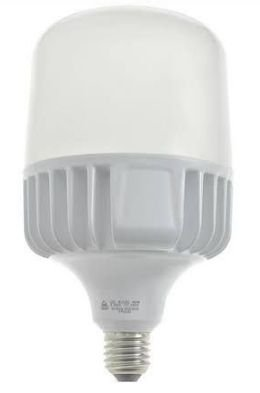 Lâmpada Super LED 45W Bulbo Bivolt Branco Frio 6000k