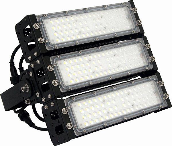 Refletor LED Holofote Modular 150w Branco Frio  5700k   IP65