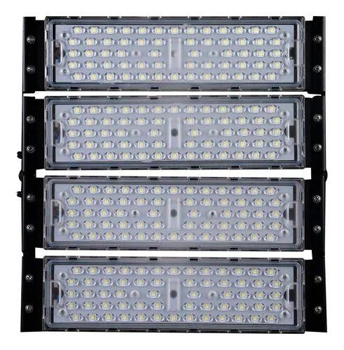 Refletor LED Holofote Modular 200w 4000K Branco Neutro  IP65