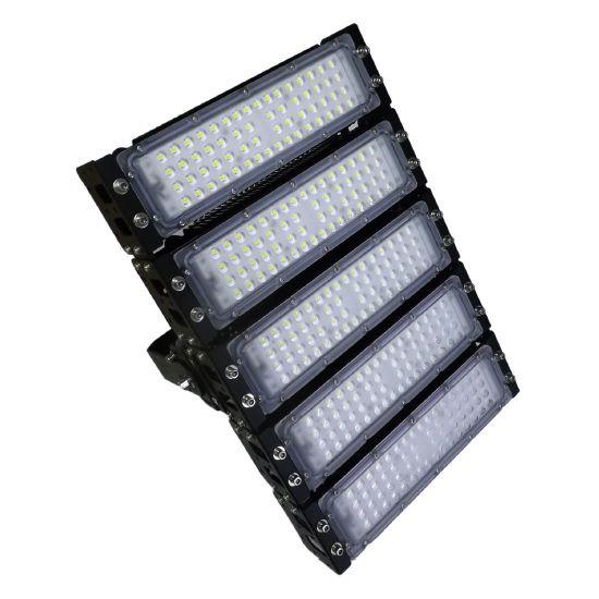 Refletor LED Holofote Modular 250w 3000K Branco Quente IP65