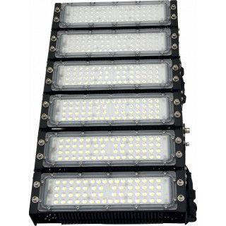 Refletor LED Holofote Modular 300w 5700K Branco IP65