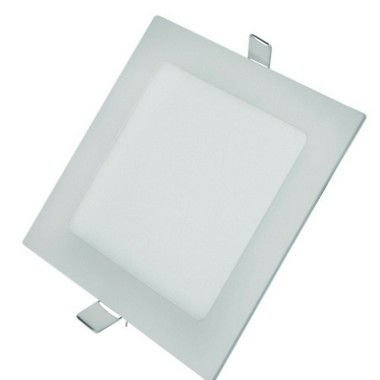 Luminária Plafon LED 18W 22X22 Quadrado De Embutir Branco Neutro 4000k