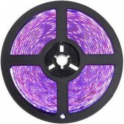 Fita LED 5050 ROXO Siliconada Prova D'água 5 Metros + Fonte